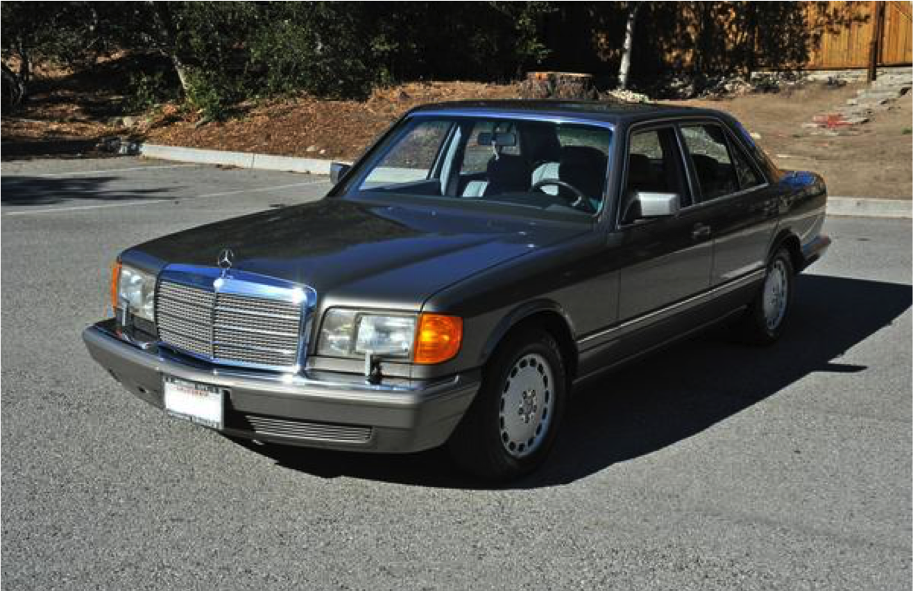 SOLD: 1989 Mercedes Benz 300 SE